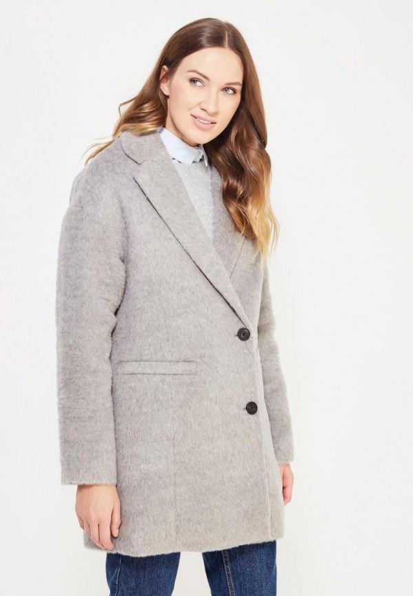 женское пальто tommy hilfiger, серое