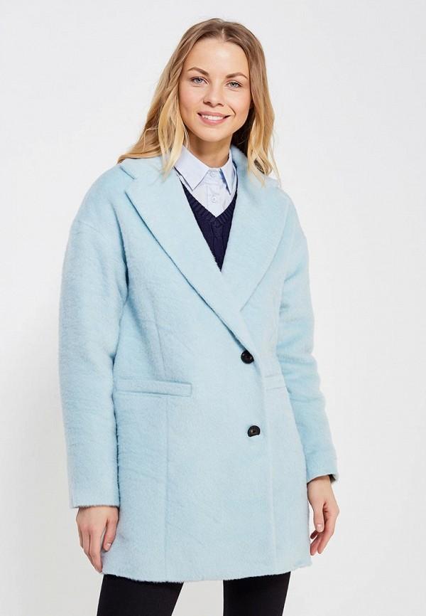 женское пальто hilfiger denim, голубое