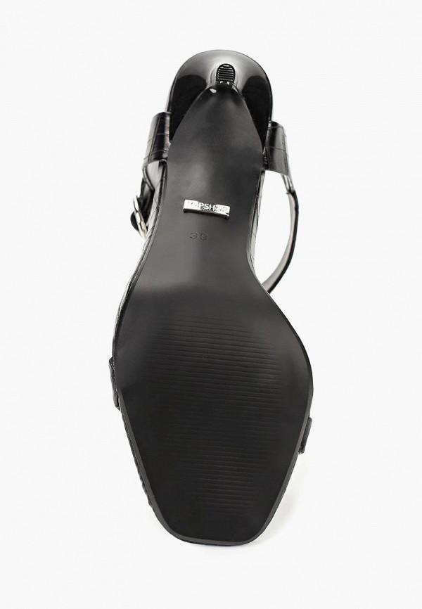 Фото 3 - женские босоножки Topshop черного цвета