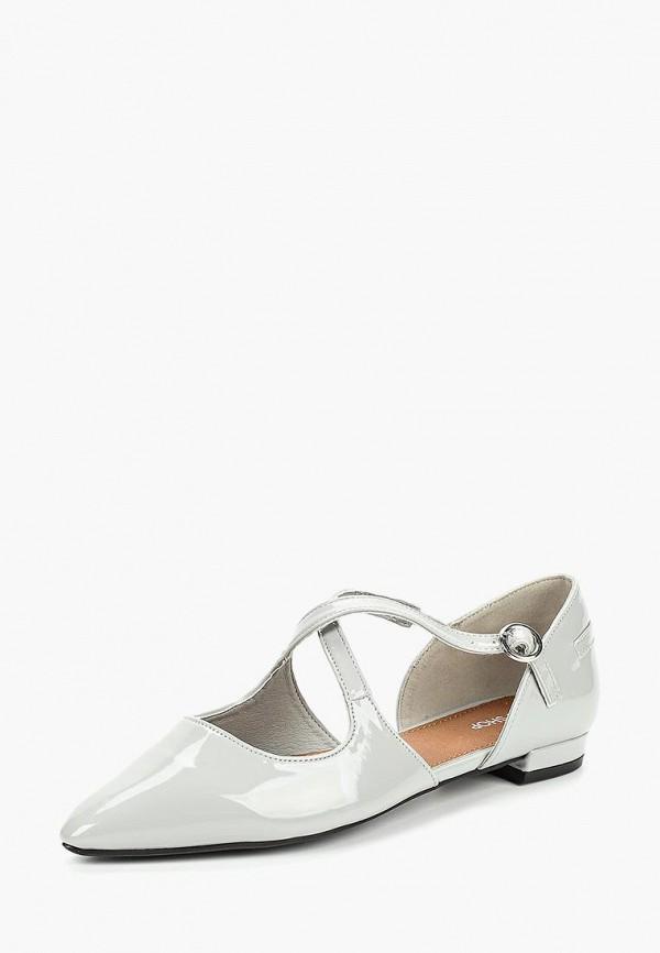 Купить Туфли Topshop, TO029AWCOYC5, серый, Осень-зима 2018/2019