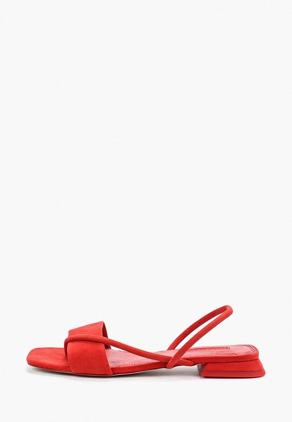 женские сандалии topshop, красные