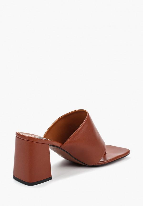 Фото 3 - женские сабо Topshop коричневого цвета