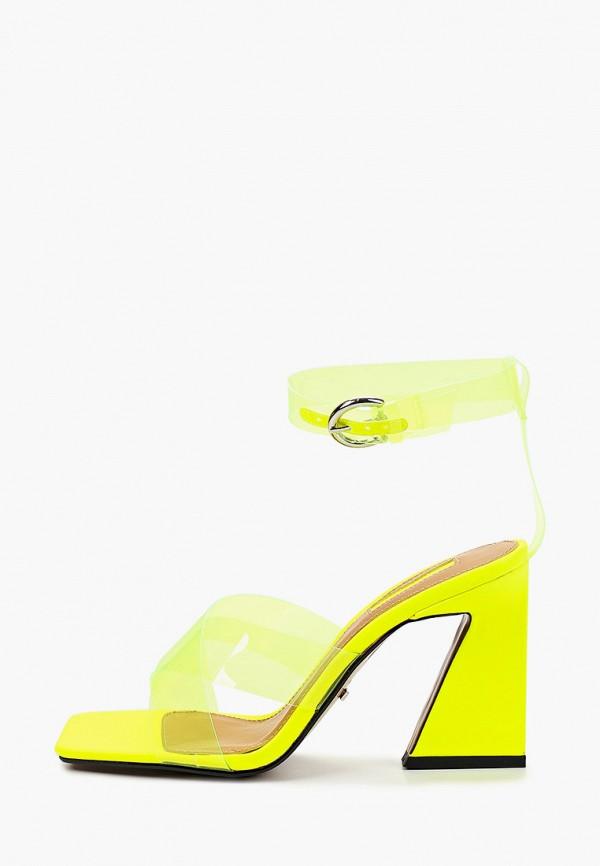 женские босоножки topshop, желтые