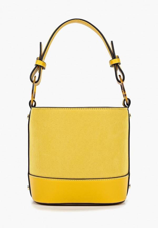 женская сумка topshop, желтая