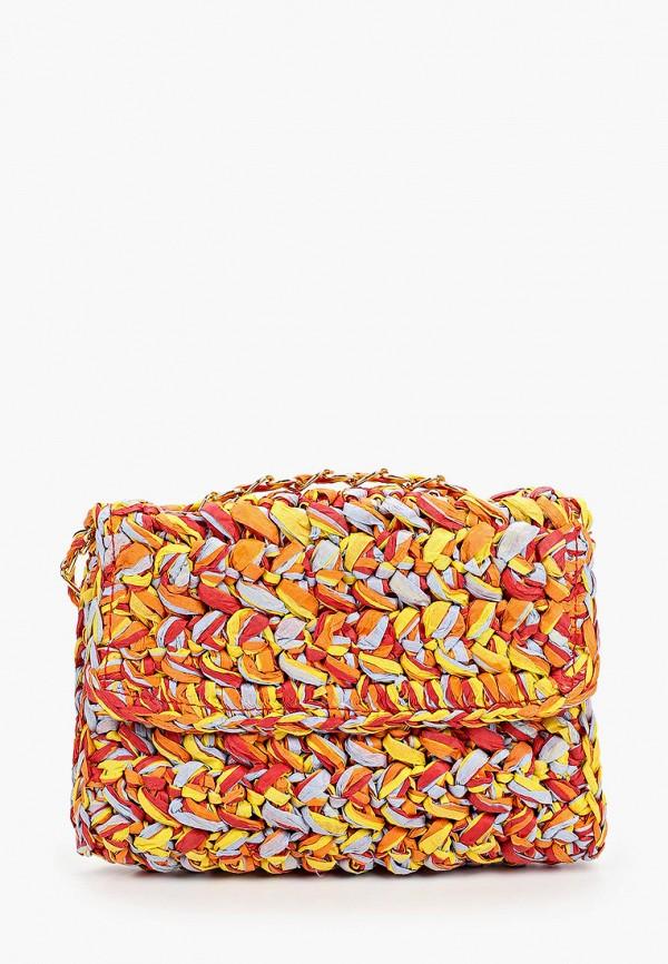 женская сумка topshop, разноцветная