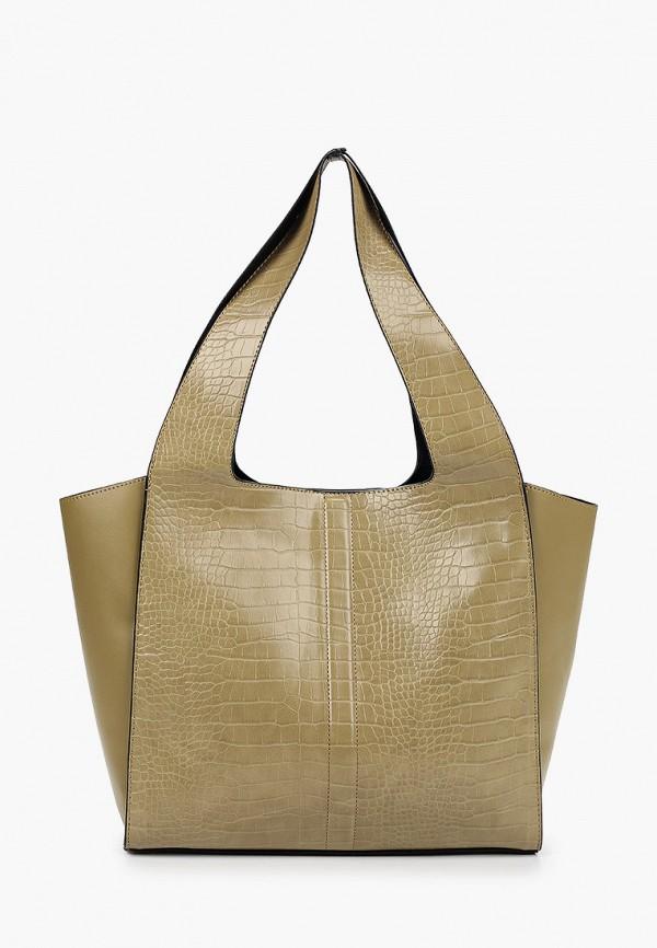 женская сумка topshop, хаки