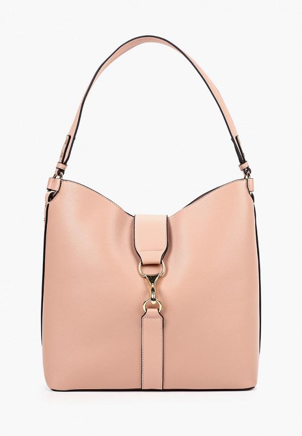 женская сумка topshop, розовая