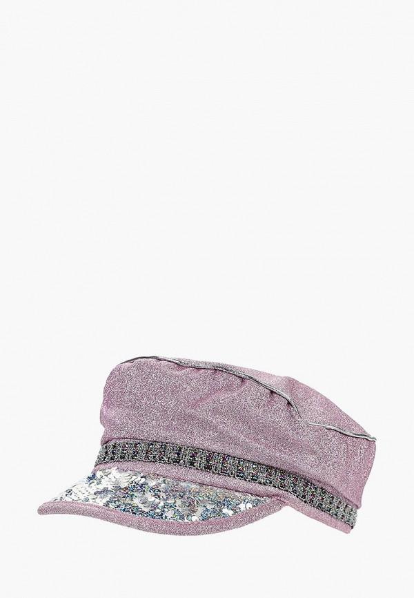 женская кепка topshop, розовая