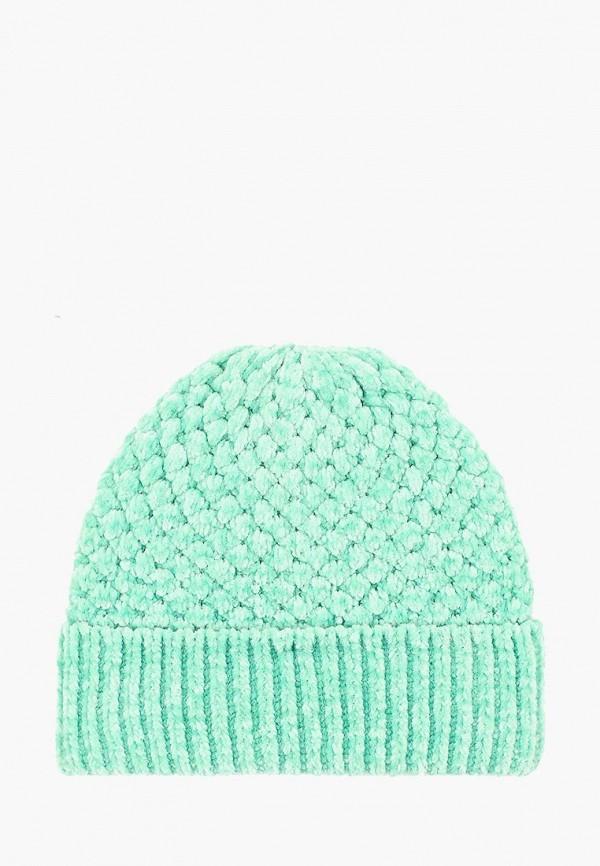 женская шапка topshop, зеленая