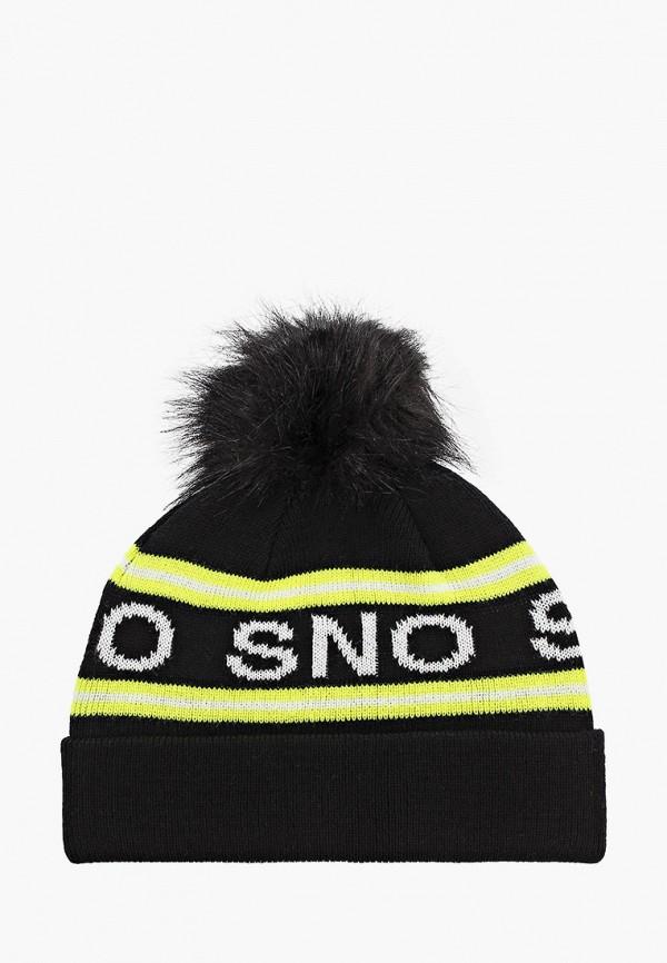 женская шапка topshop, черная