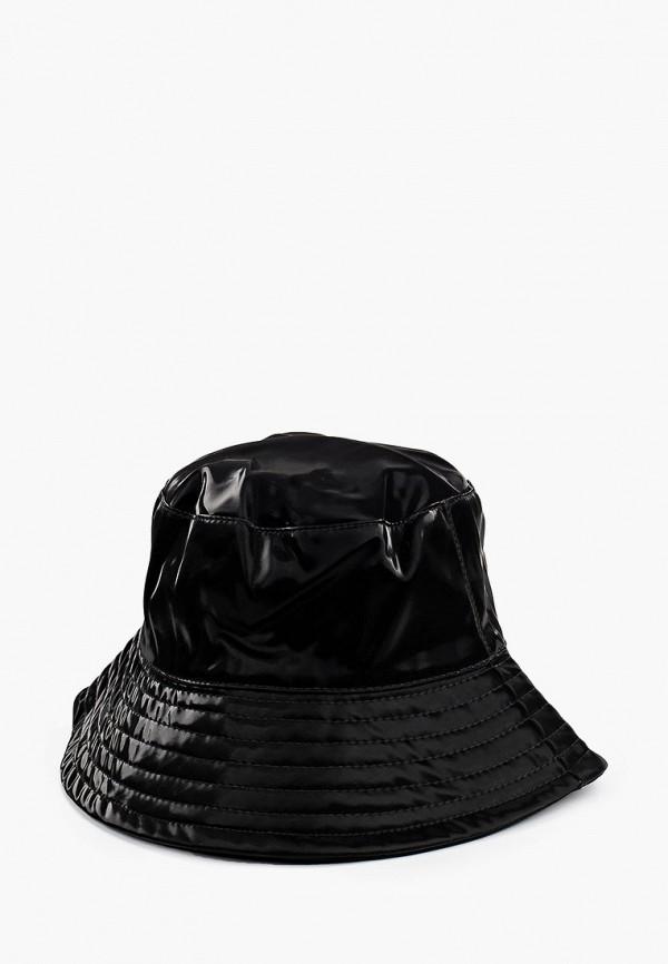 женская панама topshop, черная
