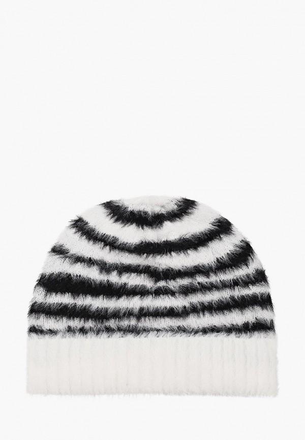 женская шапка topshop, белая