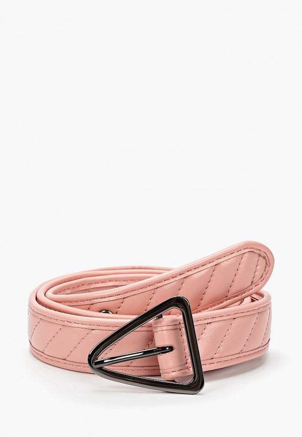 женский ремень topshop, розовый