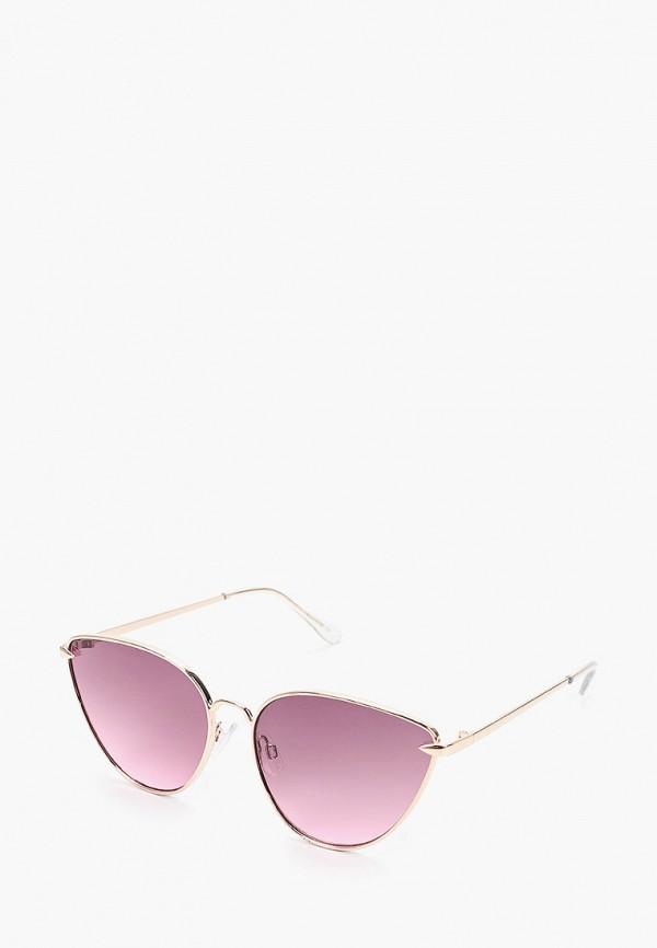 женские солнцезащитные очки topshop, золотые