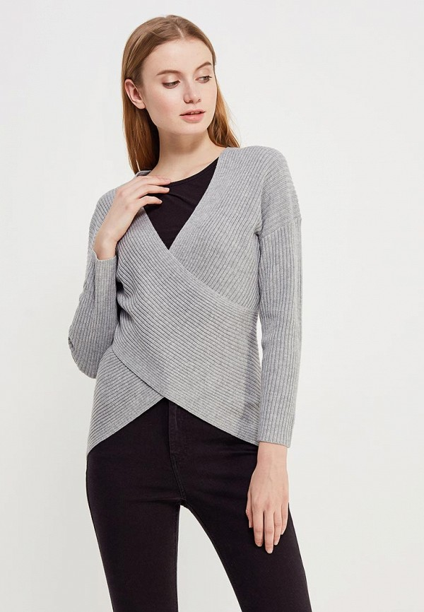 Купить Пуловер Topshop, to029ewaddu0, серый, Весна-лето 2018