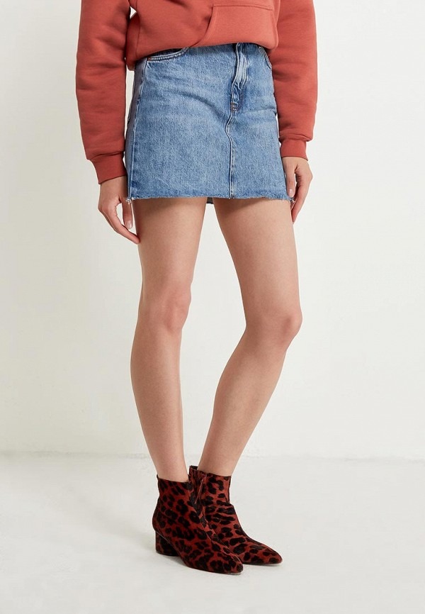 Юбка джинсовая Topshop Topshop TO029EWALTN6 topshop джинсовая юбка