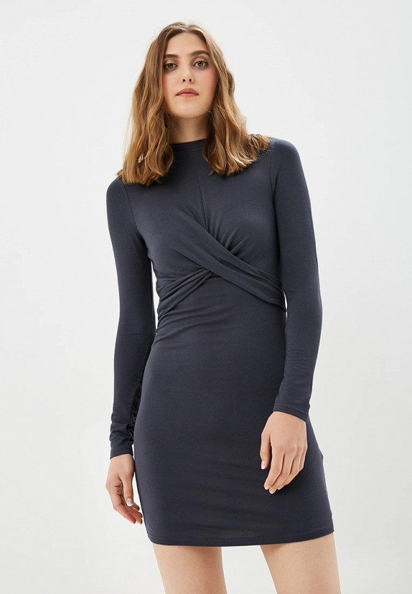Купить Платье Topshop, TO029EWALTP3, серый, Весна-лето 2018