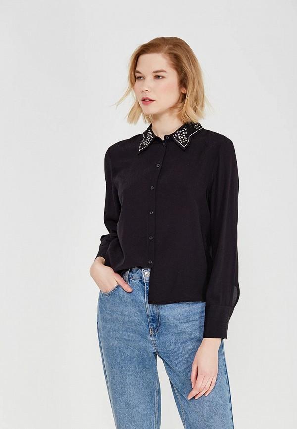 Купить Блуза Topshop, TO029EWALTS3, черный, Весна-лето 2018
