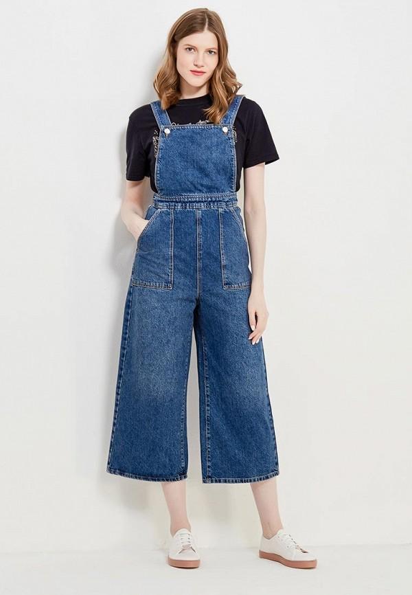 Комбинезон джинсовый Topshop Topshop TO029EWANMM5