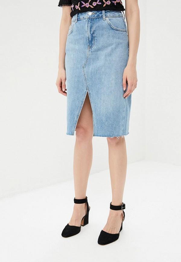 Юбка джинсовая Topshop Topshop TO029EWANMM7 topshop джинсовая юбка