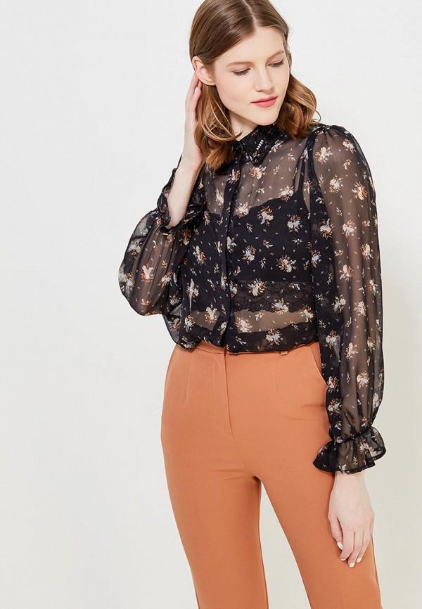 Купить Блуза Topshop, TO029EWANMP0, черный, Весна-лето 2018