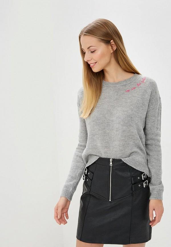 Купить Джемпер Topshop, to029ewanmp7, серый, Весна-лето 2018