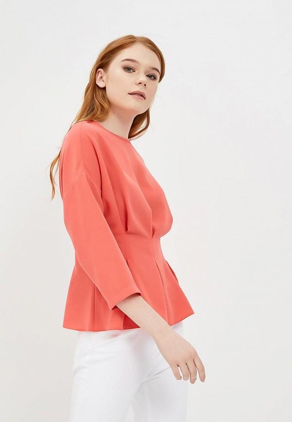 Купить Блуза Topshop, TO029EWAPSA9, коралловый, Весна-лето 2018