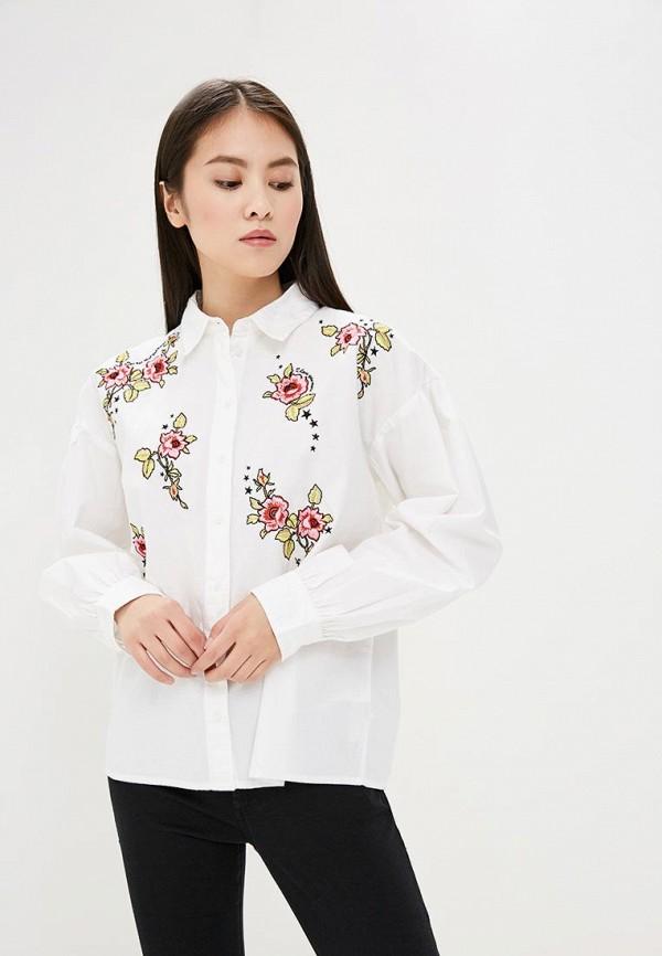 Купить Рубашка Topshop, TO029EWATTL0, белый, Весна-лето 2018