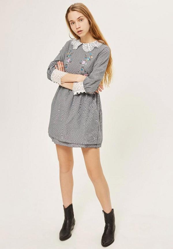 Купить Платье Topshop, TO029EWAYWI5, серый, Весна-лето 2018