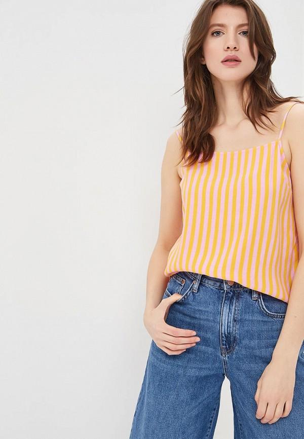 Купить Топ Topshop, TO029EWAYWJ5, разноцветный, Весна-лето 2018