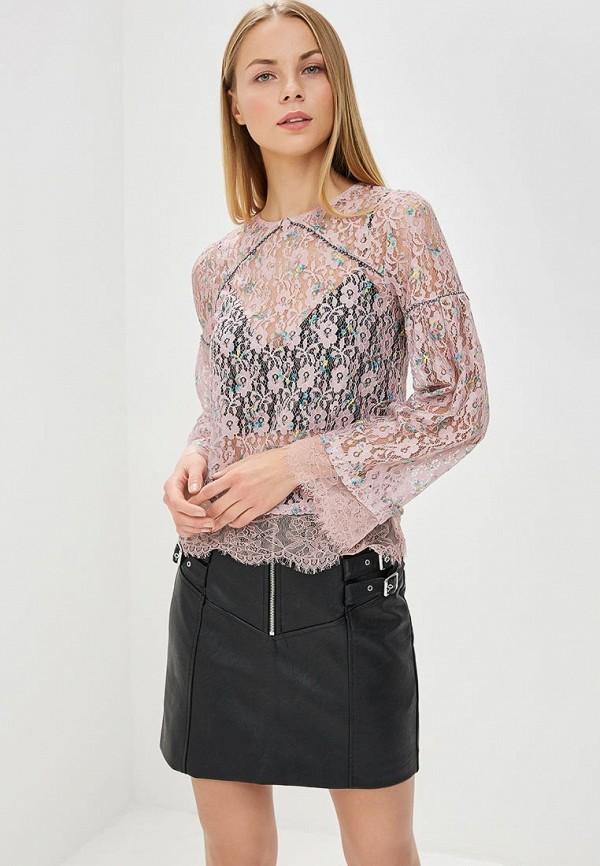 Купить Блуза Topshop, to029ewbbri0, розовый, Весна-лето 2018