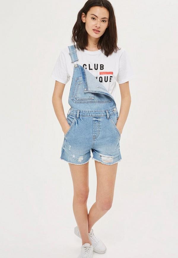 Комбинезон джинсовый Topshop Topshop TO029EWBBRJ2
