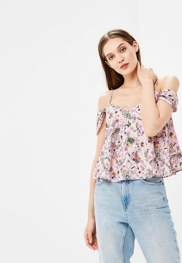 Блуза Topshop Topshop TO029EWBBRK9 блуза topshop topshop to029ewboqr4