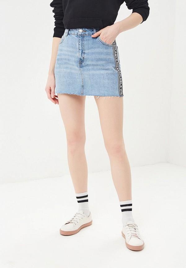 Юбка джинсовая Topshop Topshop TO029EWBFMJ7 topshop джинсовая юбка