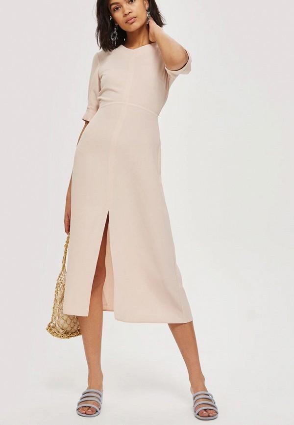 Купить Платье Topshop, TO029EWBGLE0, розовый, Весна-лето 2018