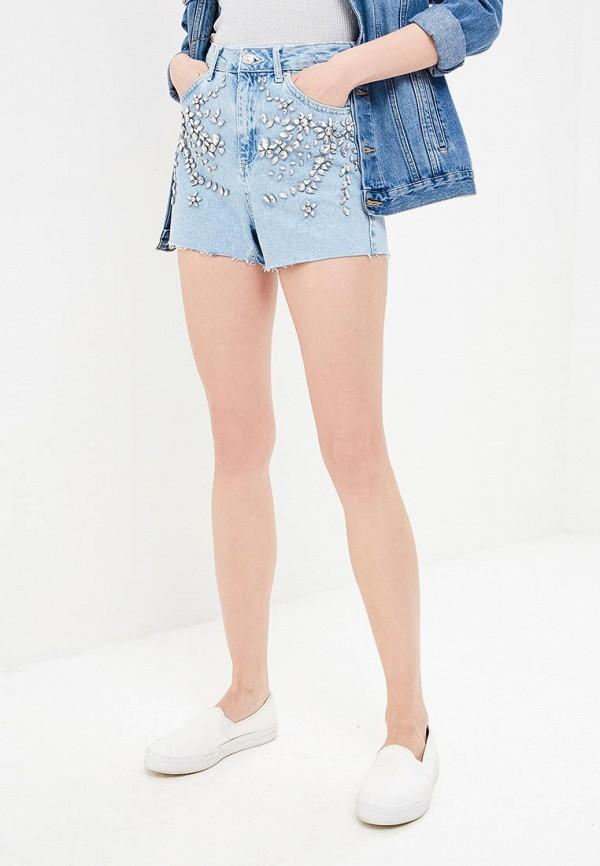 Шорты джинсовые Topshop Topshop TO029EWBJGH1