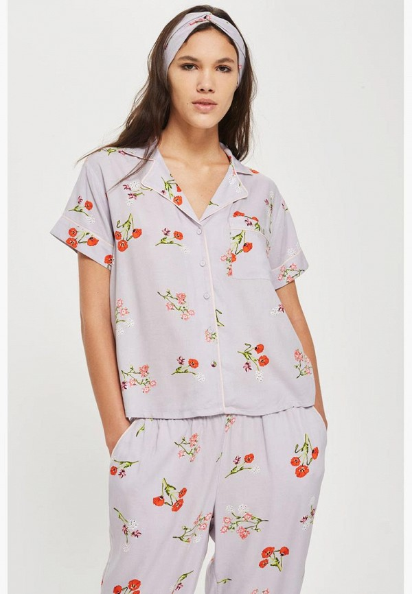 Рубашка домашняя Topshop Topshop TO029EWBJSP4 рубашка topshop topshop to029ewcimo0