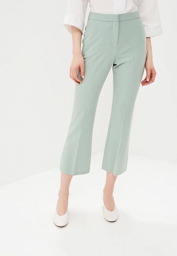 женские брюки topshop, зеленые