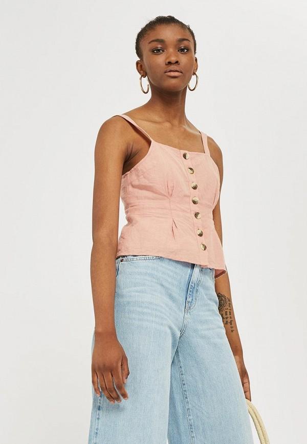 Топ Topshop Topshop TO029EWBOQR1 шорты джинсовые topshop topshop to029ewarxe9