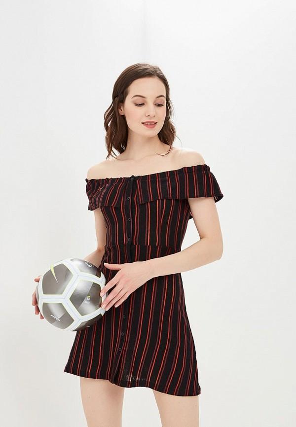Купить Платье Topshop, TO029EWBQGO0, черный, Осень-зима 2018/2019