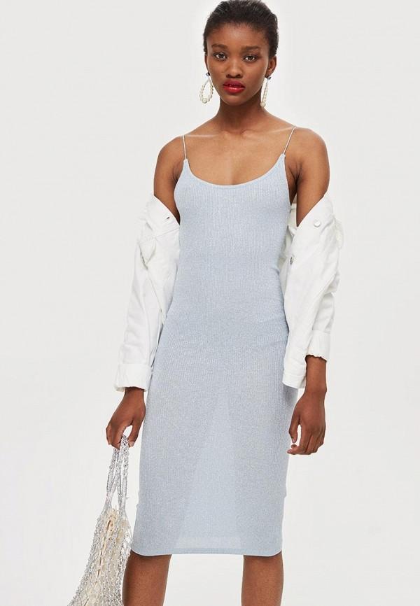 Купить Платье Topshop, to029ewbsax9, серый, Осень-зима 2018/2019