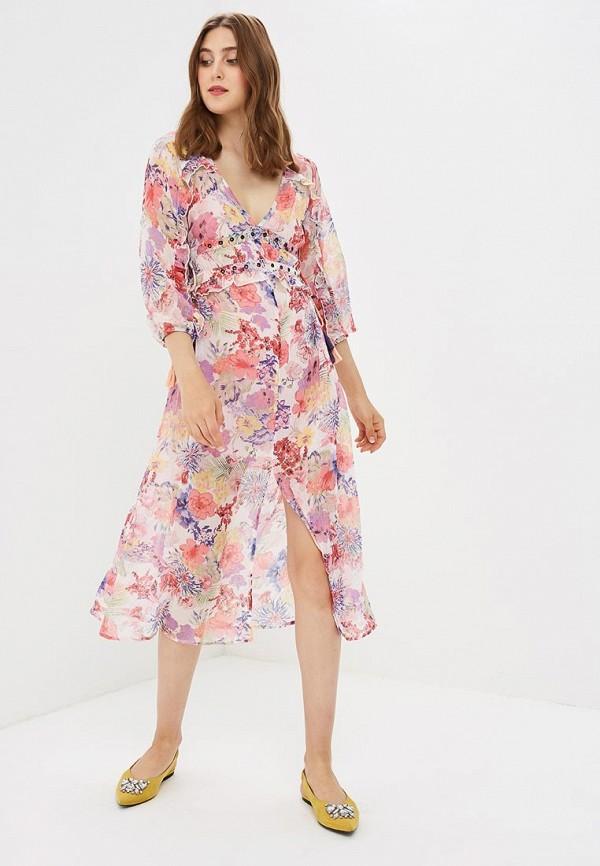 Купить Платье Topshop, to029ewbsay3, разноцветный, Осень-зима 2018/2019