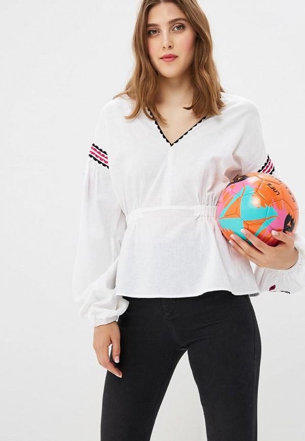 Купить Блуза Topshop, TO029EWBSAZ0, белый, Осень-зима 2018/2019