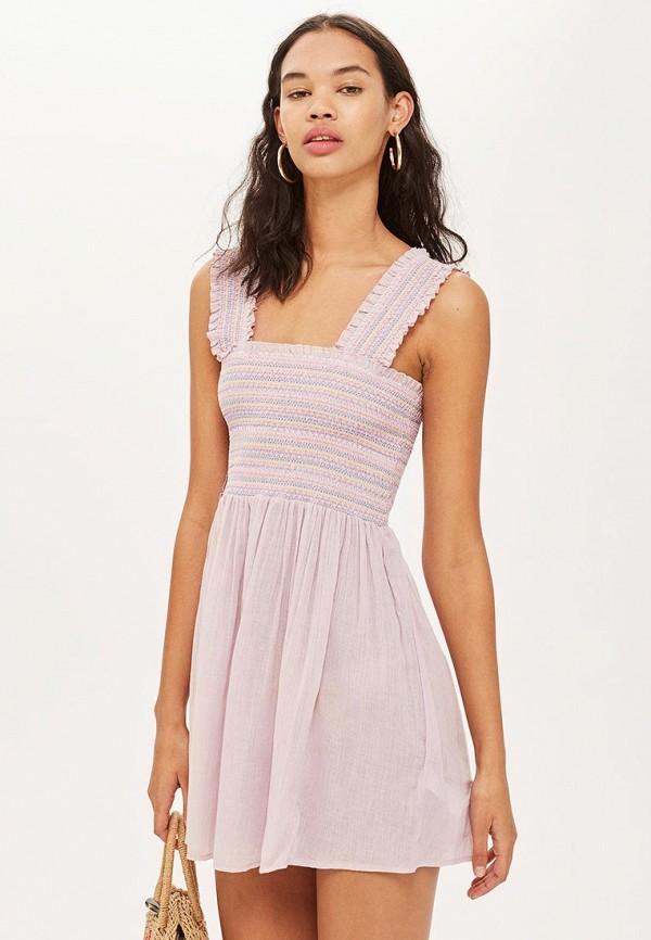 Купить Платье Topshop, TO029EWBTOT2, розовый, Осень-зима 2018/2019