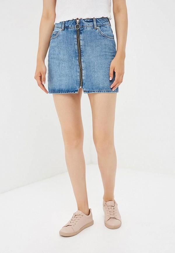 Юбка джинсовая Topshop Topshop TO029EWBTOU1 topshop джинсовая юбка