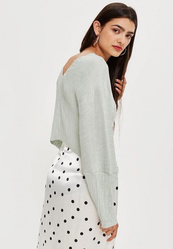 Купить Блуза Topshop, TO029EWBTOV8, серый, Осень-зима 2018/2019