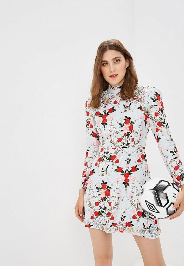 Купить Платье Topshop, TO029EWBTOW6, голубой, Осень-зима 2018/2019