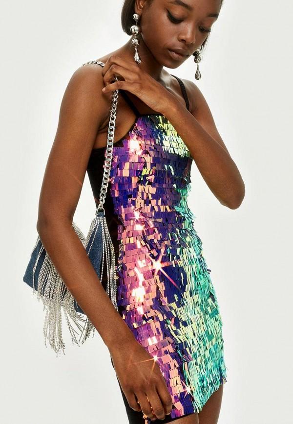 Платье Topshop Topshop TO029EWBVLW8 шорты джинсовые topshop topshop to029ewarxe9