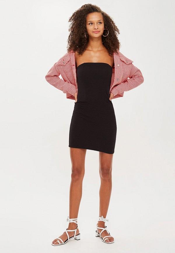 Купить Платье Topshop, TO029EWCDUX5, черный, Осень-зима 2018/2019
