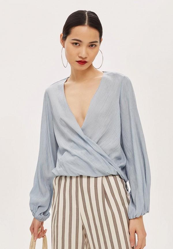 Купить Блуза Topshop, TO029EWCDUY0, серый, Осень-зима 2018/2019
